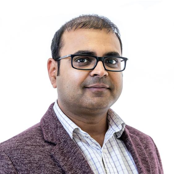 portrait of Himanshu Patel